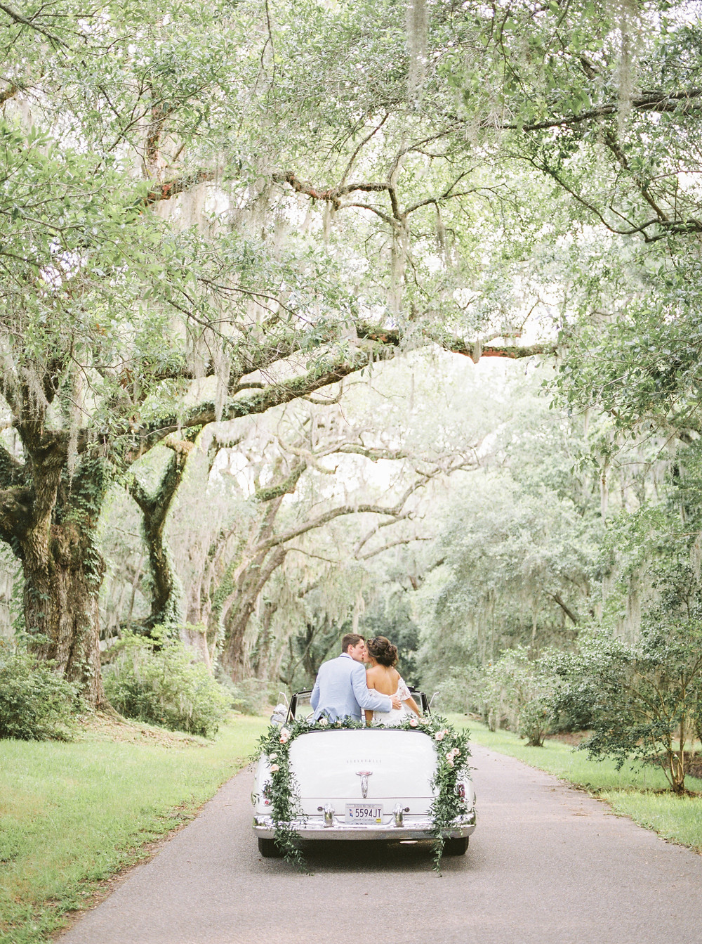 Spanish Moss Tree Wedding
