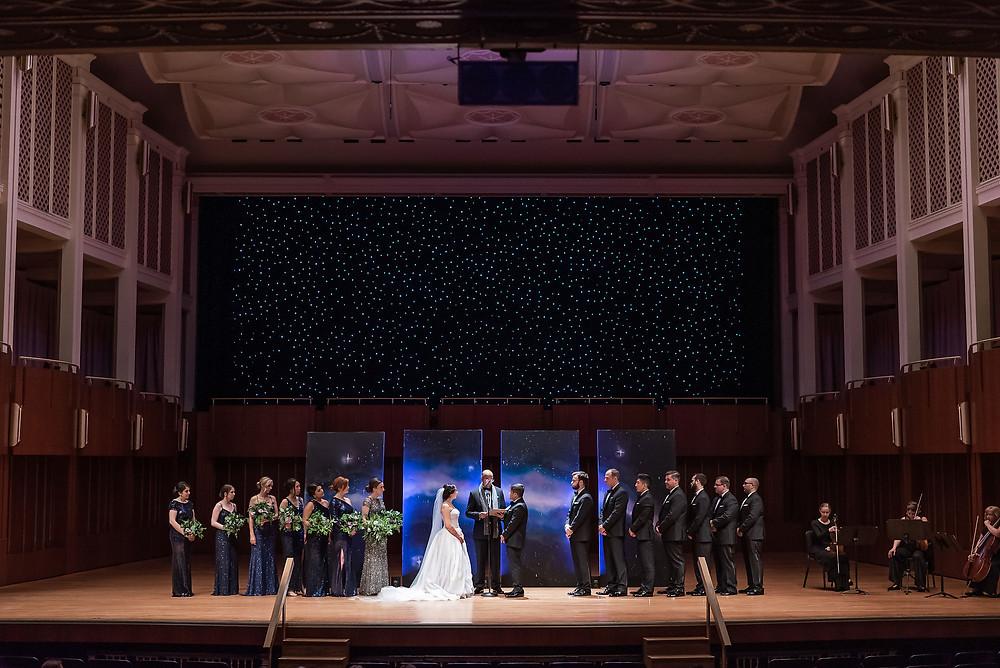 Indianapolis Symphony Wedding