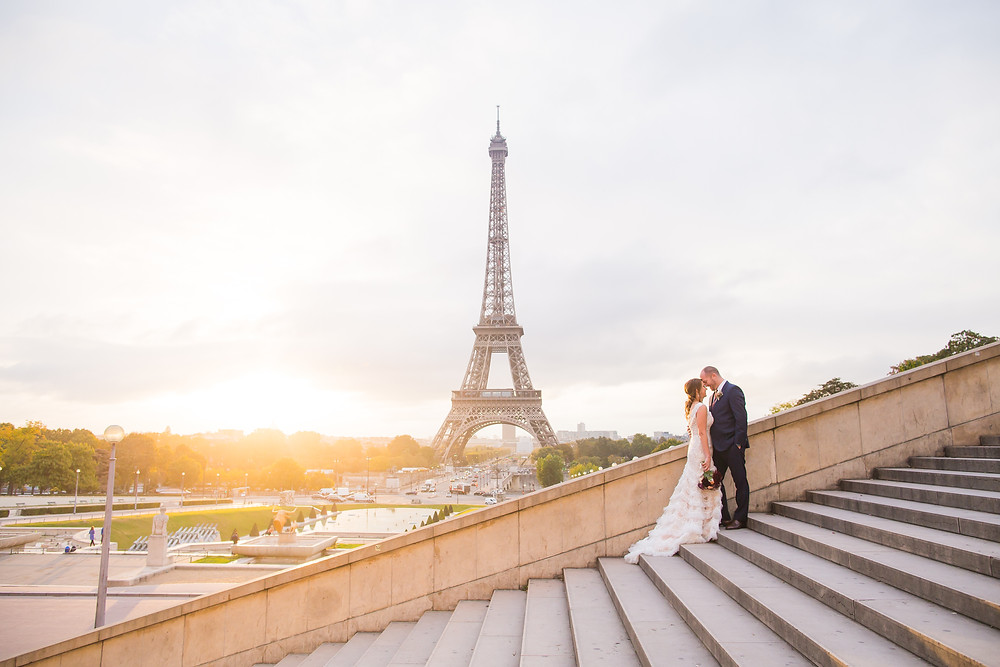 Sunrise Wedding Paris
