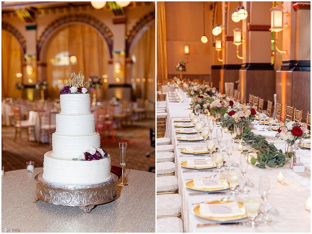 Heavenly Sweet Wedding Cake