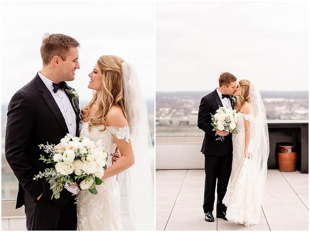 Indianapolis Bride and Groom