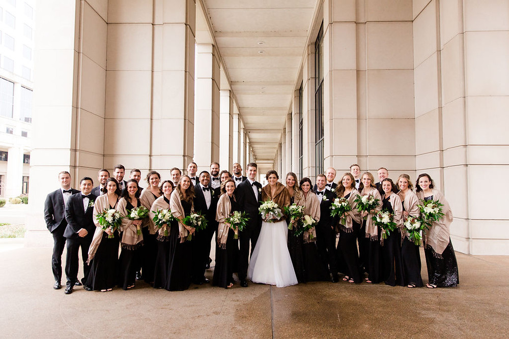Black Tie Wedding Indianapolis