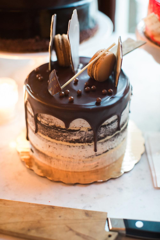 New Orleans Wedding Cake