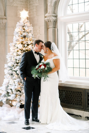 Laurel Hall Winter Wedding | Logan & Ethan | Indianapolis Day of Coordinator