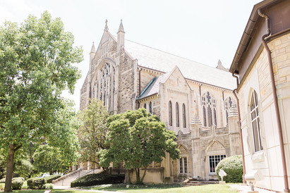 University of Notre Dame Wedding Planning   Basilica of the Sacred Heart
