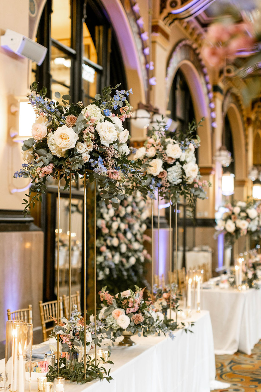 Tall Wedding Flowers