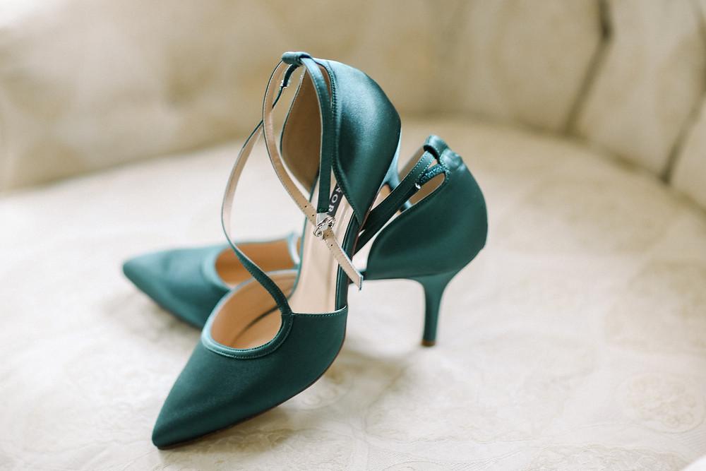 Green Bride Shoes