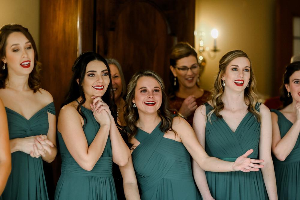 Evergreen Bridesmaids