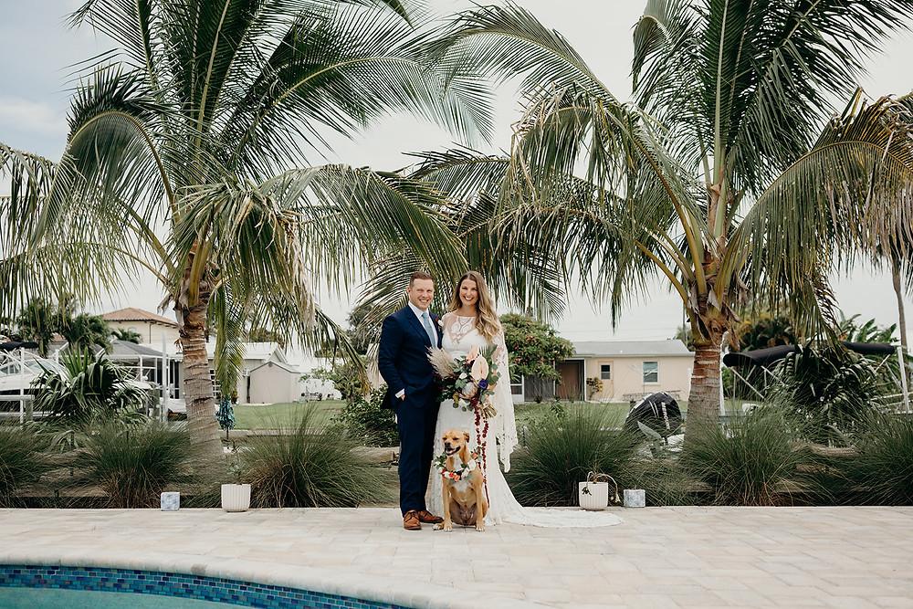 Florida Wedding with Pets