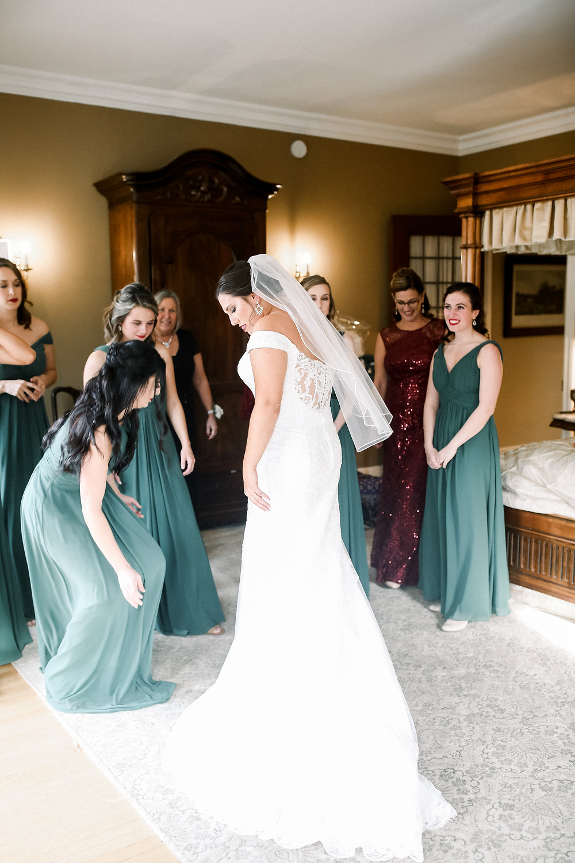 Laurel Hall Winter Wedding