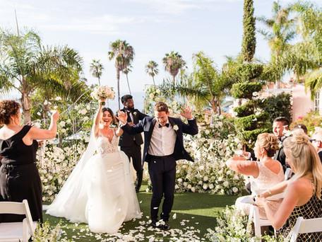 La Valencia Hotel Wedding | La Jolla California | Bret & Marlene