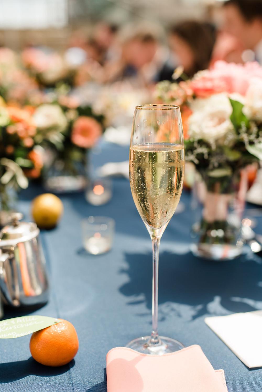 Conrad Wedding Champagne Toast
