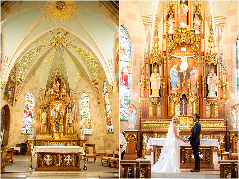 Indianapolis Catholic Wedding Ceremony