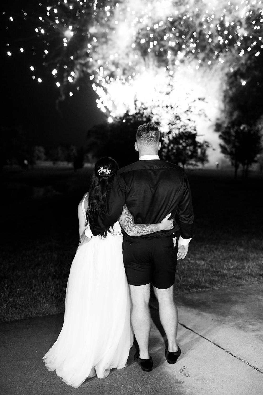 Indianapolis Wedding Fireworks