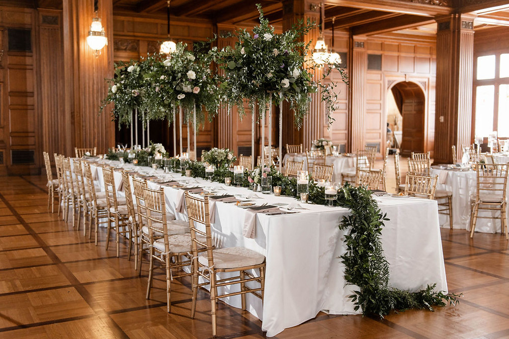 Kings Table Wedding Reception