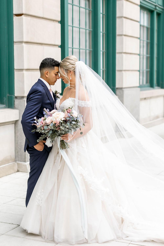 Romantic Wedding Photos Indianapolis