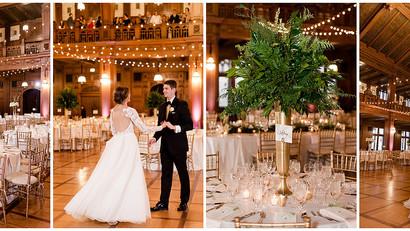 Scottish Rite Cathedral Wedding | Indianapolis Wedding Coordinator | Jessica & Zach