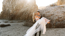 Day-After Bridal Session | Destination Wedding Planning | Malibu California