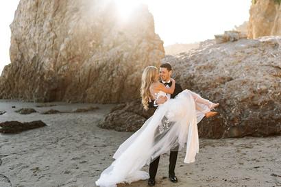 Day-After Bridal Session | Destination Wedding Planning | Malibu California