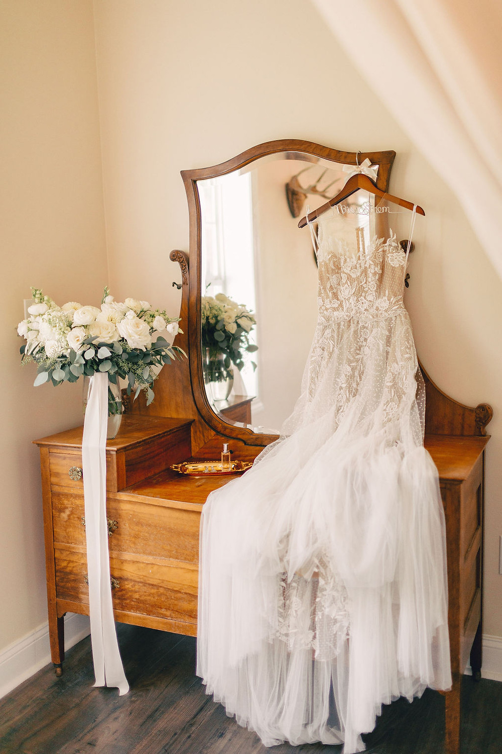 BHLDN Wedding Dress in Bridal Suite