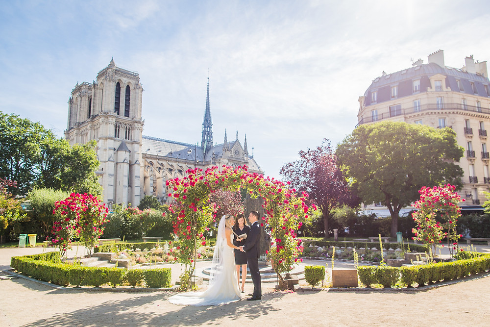 Paris Wedding Ceremony