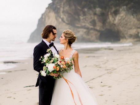 Oregon Coast Adventure Elopement Inspiration   Destination Wedding Planner