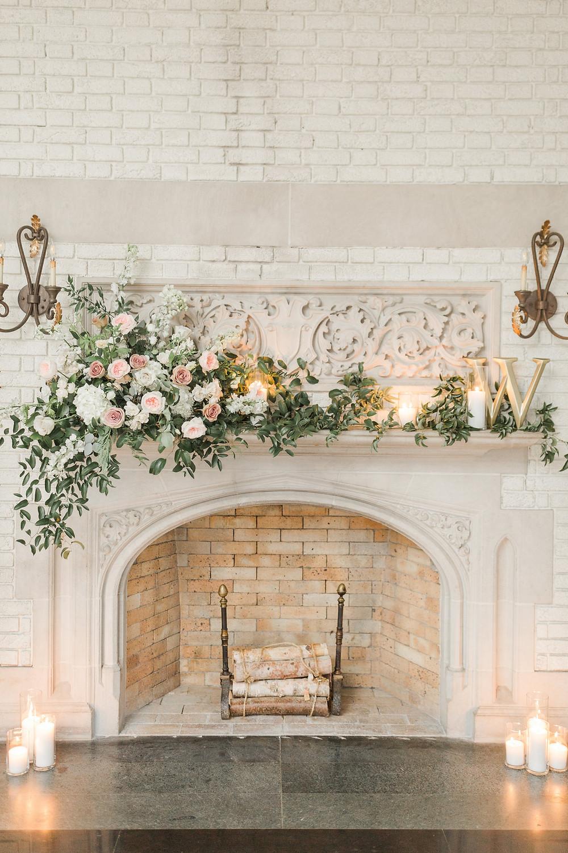 Laurel Hall Solarium Fireplace