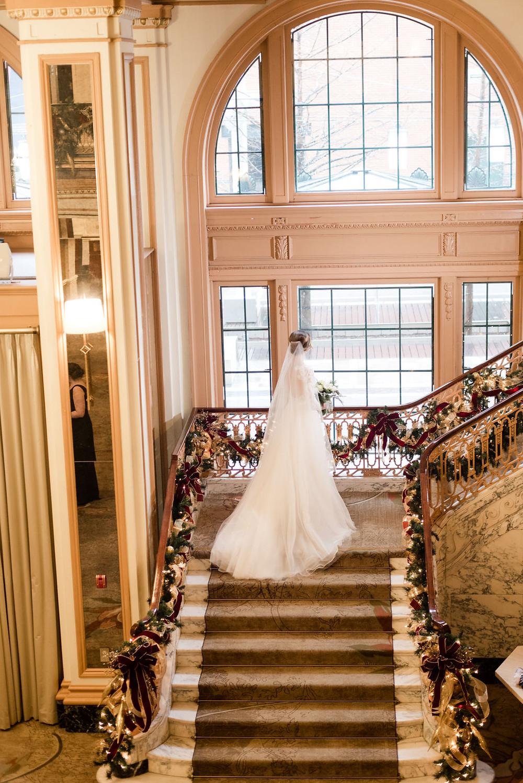 Omni Indianapolis Wedding