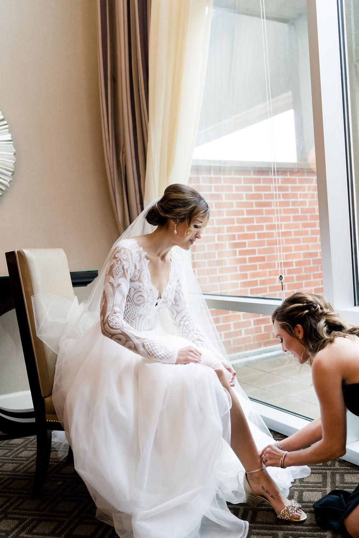 Bride Getting Ready Indianapolis