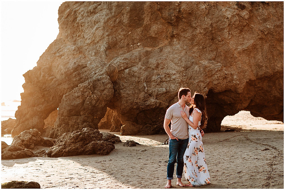 El Matador Beach Engagement