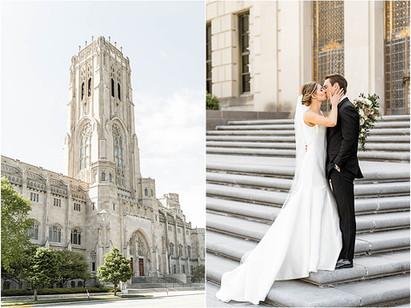 Scottish Rite Cathedral Wedding | Indianapolis Wedding Coordinator | Matthew & Emily