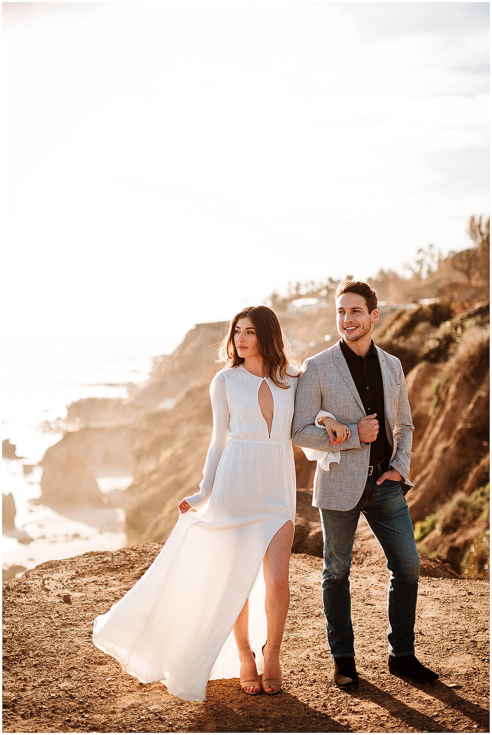 Malibu Engagement Photos