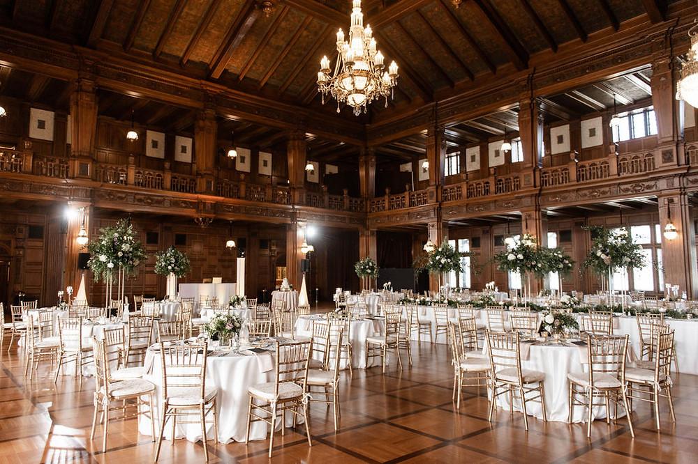Ballroom Wedding Recpetion