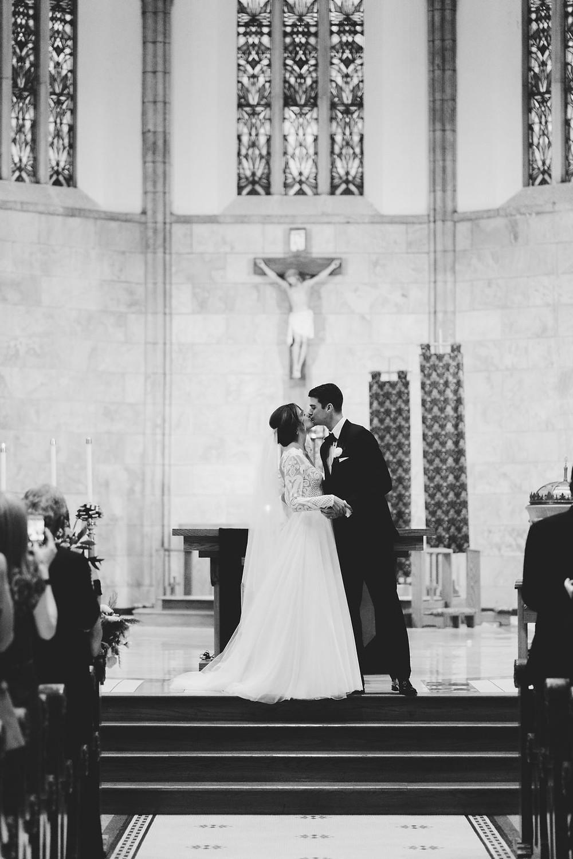 St. Mary's Catholic Wedding