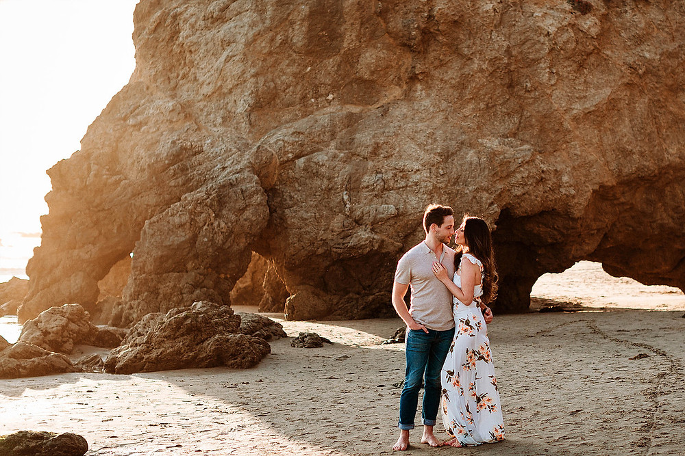 Couple on El Matador Beach