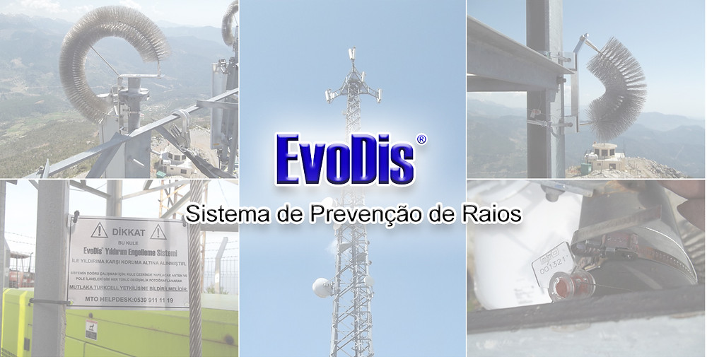 Lightning protection for telecom towers by EvoDis System