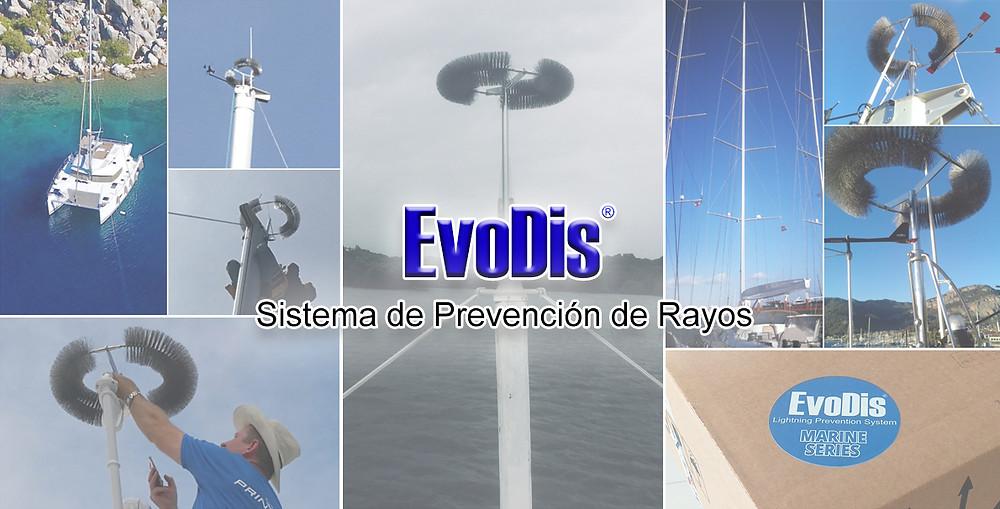 protección contra rayos para veleros