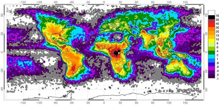 Küresel Yıldırım Haritası