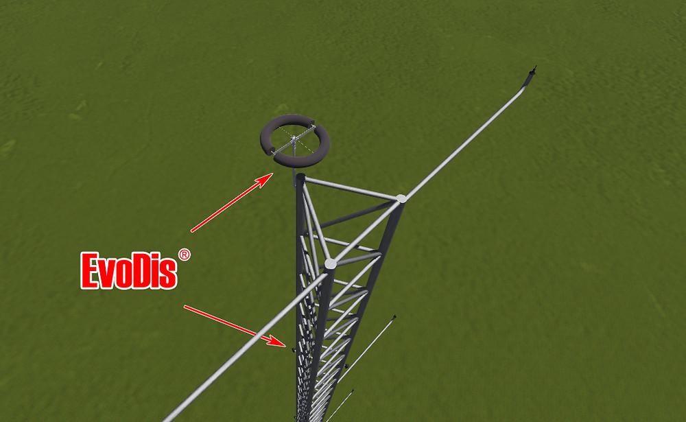 Rüzgar Ölçüm Direklerinin Yıldırımdan Korunması // EvoDis Sistemi