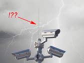 No More Lightning Damage on Military Outdoor Cameras