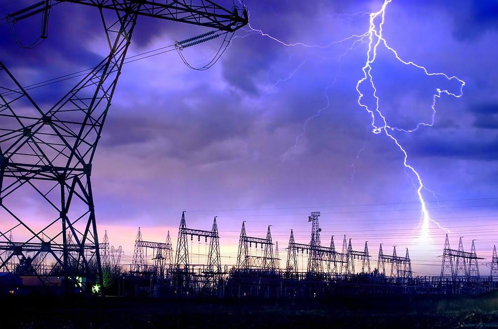 Enerji Nakil Hattı Yıldırım Düşmesi