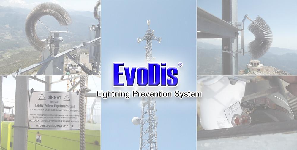 EvoDis Lightning Prevention System