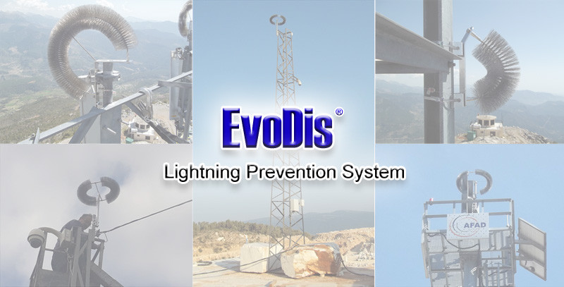 Lightning protection for cctv cameras