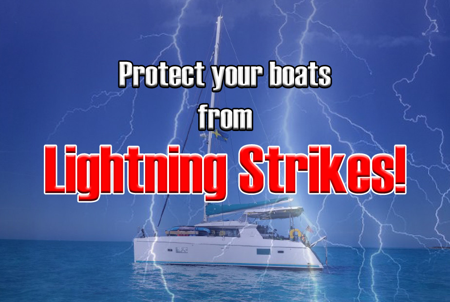 Lightning protection for sailboats