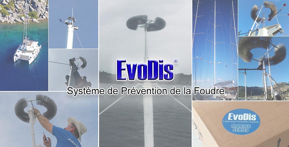 protection contre la foudre pour les bateaux - protection contre la foudre marine