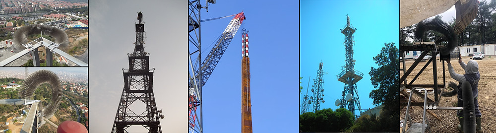 TV Broadcast Tower Lightning Protection