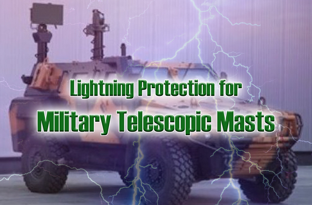 Military Telescopic Mast Lightning Protection