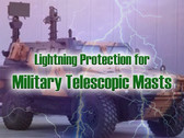 Lightning Protection for Military Telescopic Masts