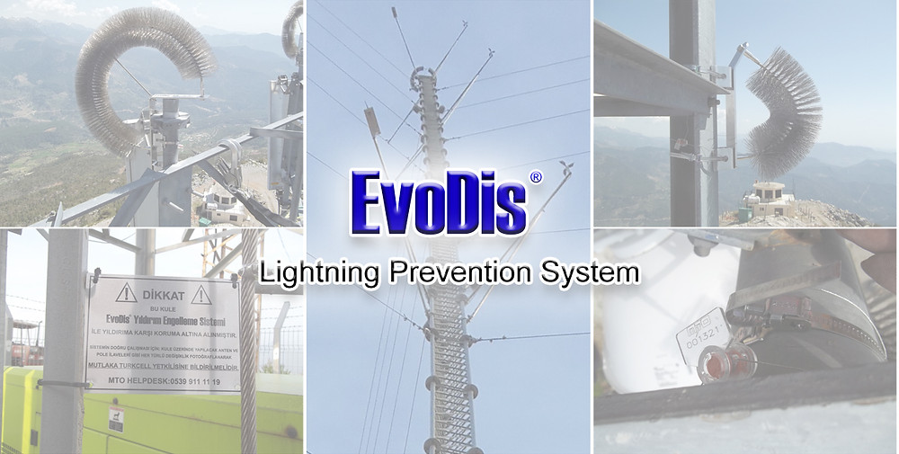 Lightning Protection for Wind Measurement Towers // EvoDis System