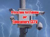 Protezione Contro il Fulmine per Telecamere di Sorveglianza CCTV